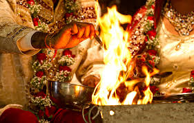 why seven round of marriage taken around of fire?