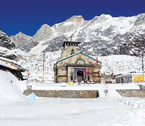 First photos of Kedarnath before pat opening