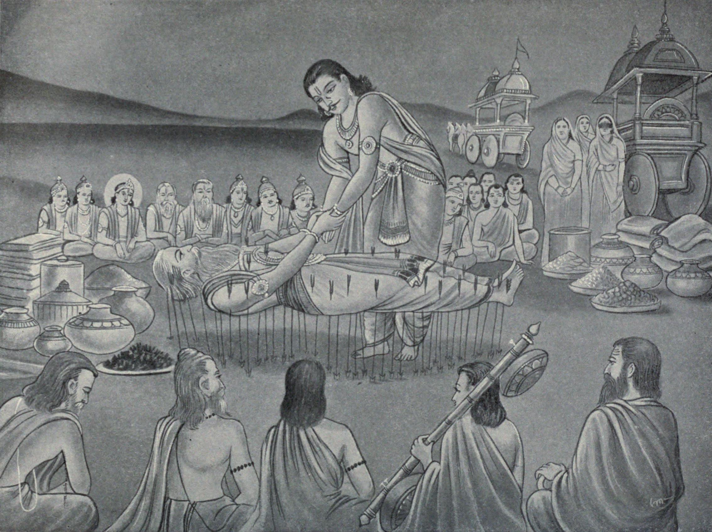 Bhishm told draupadi reason to not protect her from dushashana