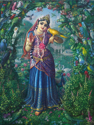 sati vrinda story who made lord vishnu of stone