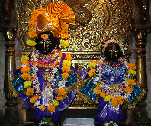 saint pundriks bless pandharpur have panduranga god in city