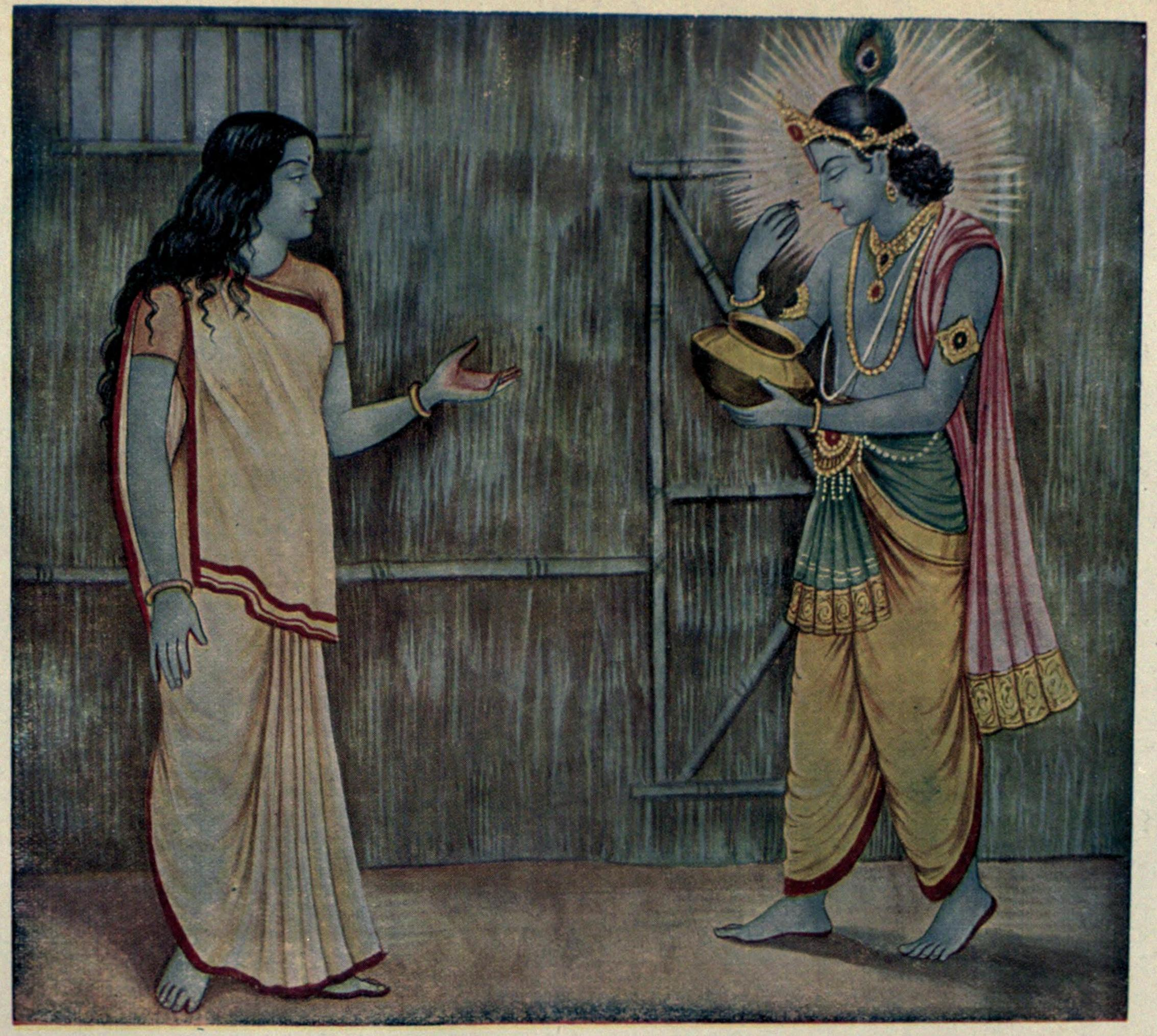 when lord krishna told importance of one piece of food