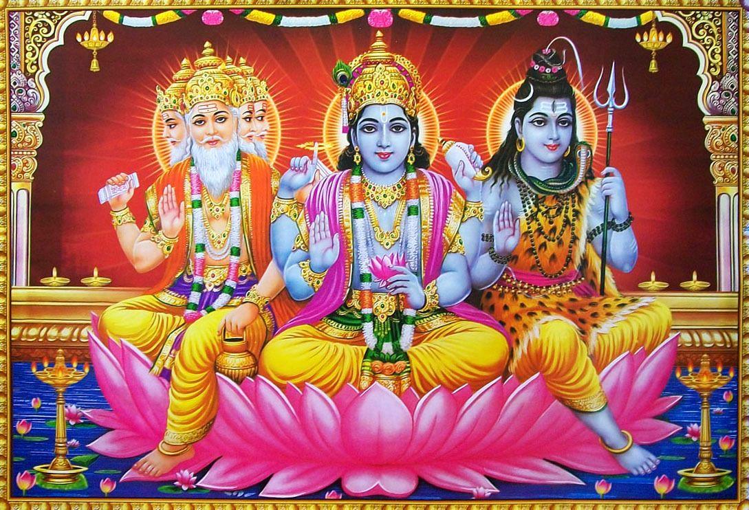 father of tridev brahma vishnu and shiv