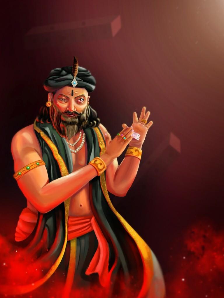 shakuni not want to revenge pandva's, he wants to destroy kaurava's