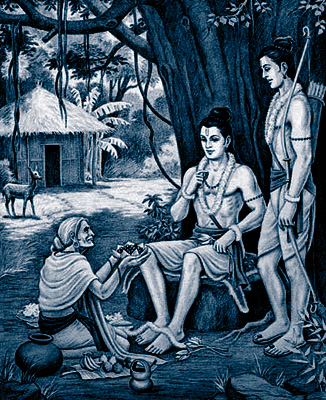 full story of shabari who eaten tested fruits to lord rama