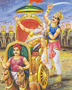 droyonachary killed by dhrithdyumy prince of drupad
