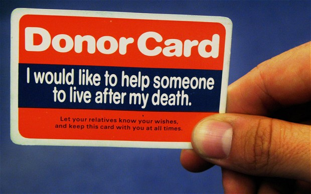 donate parts of body after death, it give to heaven