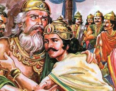 yuyutsu the only son of dhritrashtra