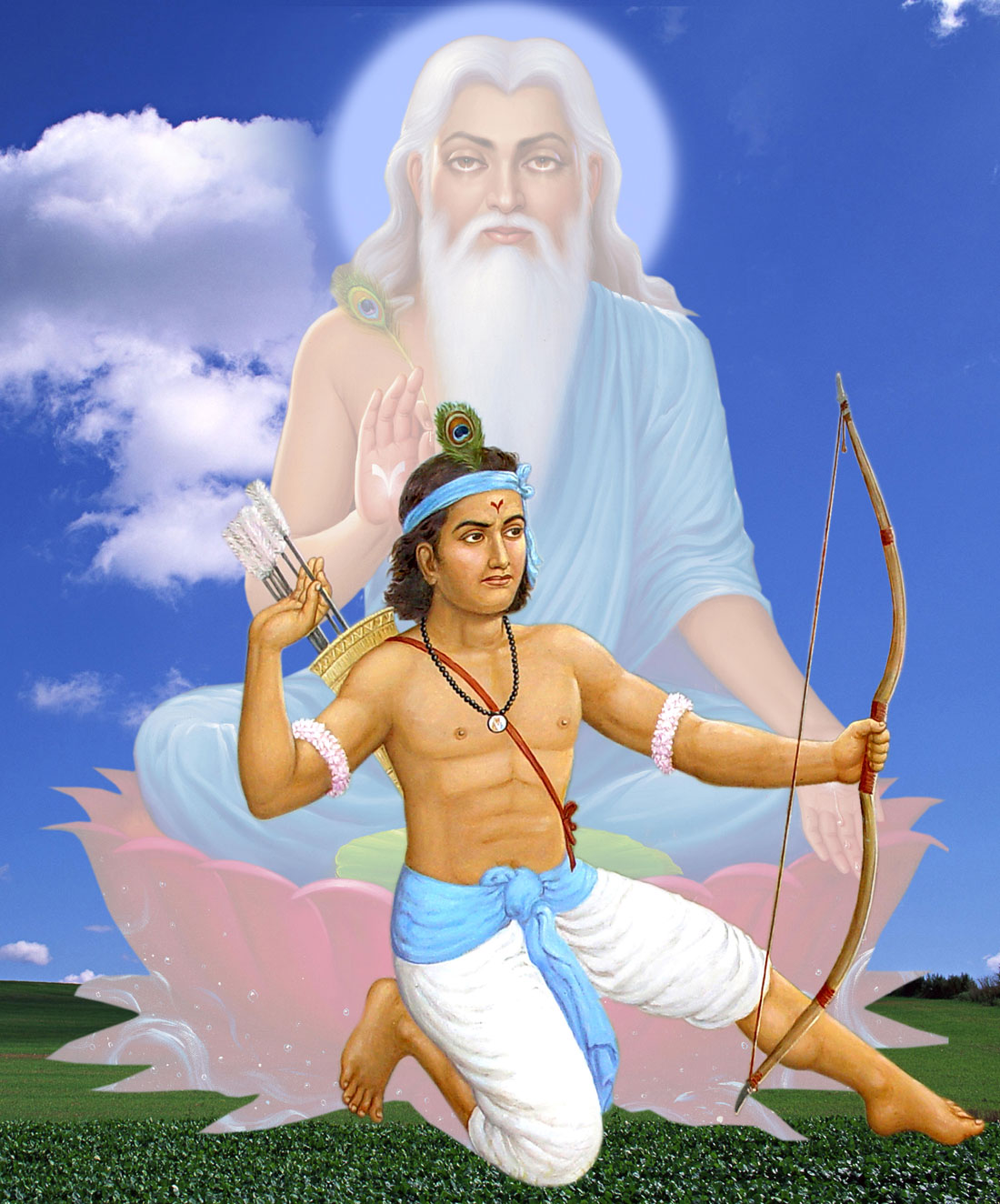 eklavya who donated his thumb to guru drona, from whom he was killed?