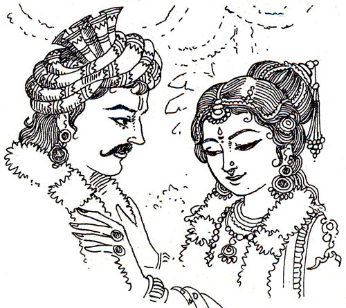 krishna's unmarried mother's love fight ended in mahabharata