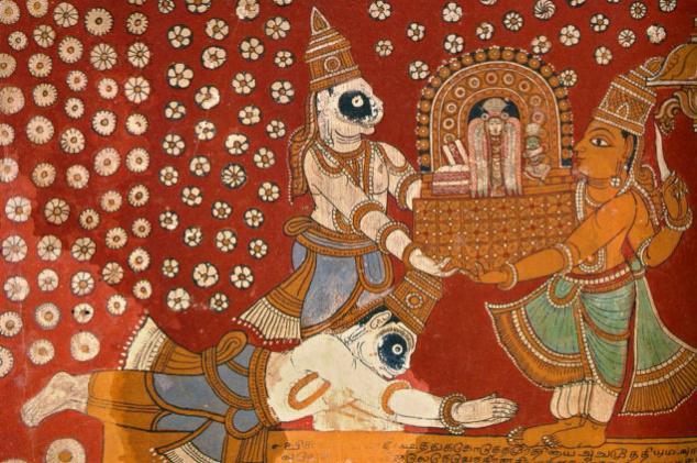 the story of muchukanda king who fight on behalf of deities