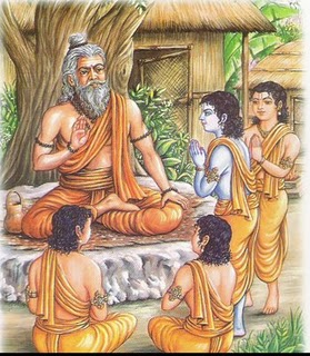 gurupurnima special, the gift of krishna to his teacher in reply of studies