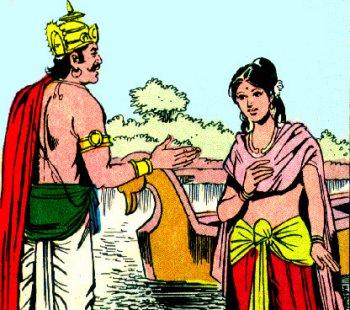 the puruvansh continue with niyoga of sage vyasa