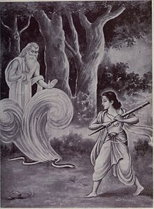 saint ruru ancestor of bhrigu sage, made a love saga
