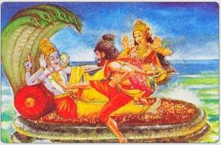 when bhrigu rishi examined the 3 deity