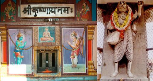 ulupi krishn temple named kankan kindi by saint kankadas