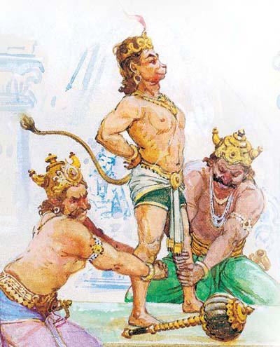 angada the son of bali and his saga