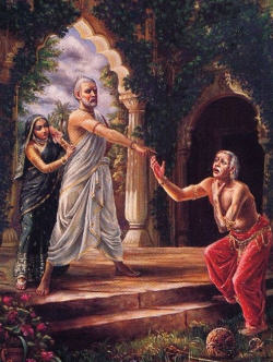 krishna and pandava were from same ancestors