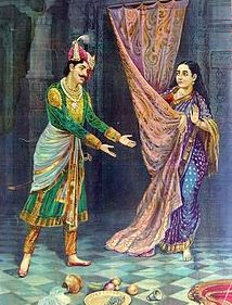 draupadi was attempted rape twice