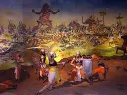 from 14th day mahabharat war continue in night also