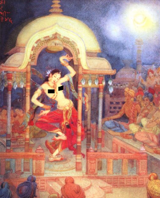 budhha's student lived 4 months in prostitute's house