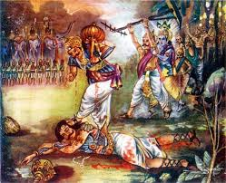 krishna tell the mistakes in war to dying duryodhan