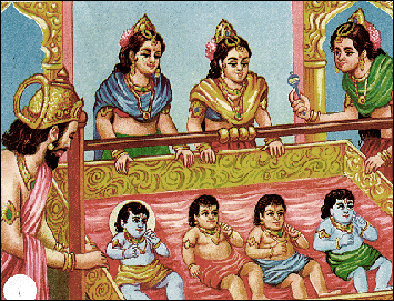 how well you know about dashratha's wives?