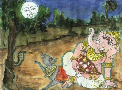 why ganesh berth celebrated as ganesh chaturthi