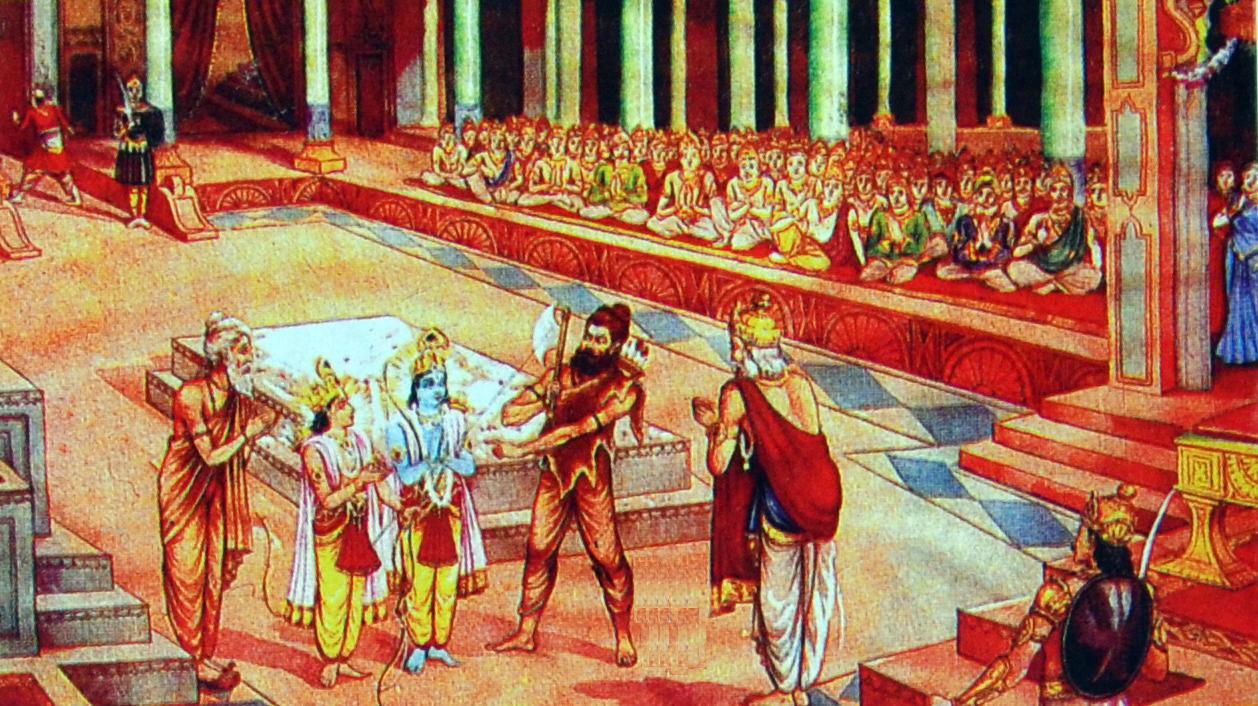 amazing relation between sage vishvamitra and parshuram