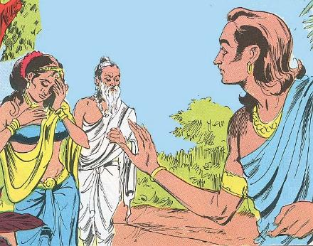 brahspati's son kacha made shukrachary his guru, get curse from devyani