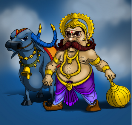 dhanteras is birthday of dhanvantri, also known as an mythological story