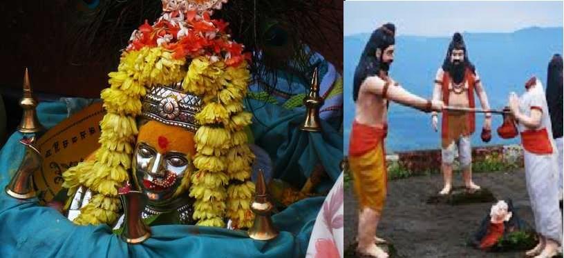 yellama ekvira or ellai amma goddess of south was parshuram's mother