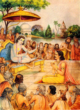 the saga of great sage shuka, son of vyasa