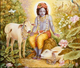 the curse of karna due to killing of cow, let him to death