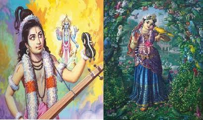 the curses of lord vishnu, who made him to take ram krishna avtara