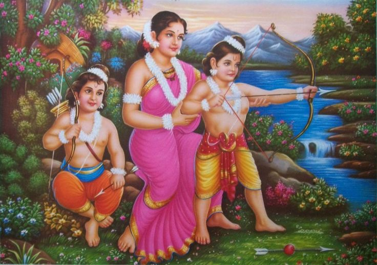pregnant sita was not excluded by rama in fact, was an wrong myth