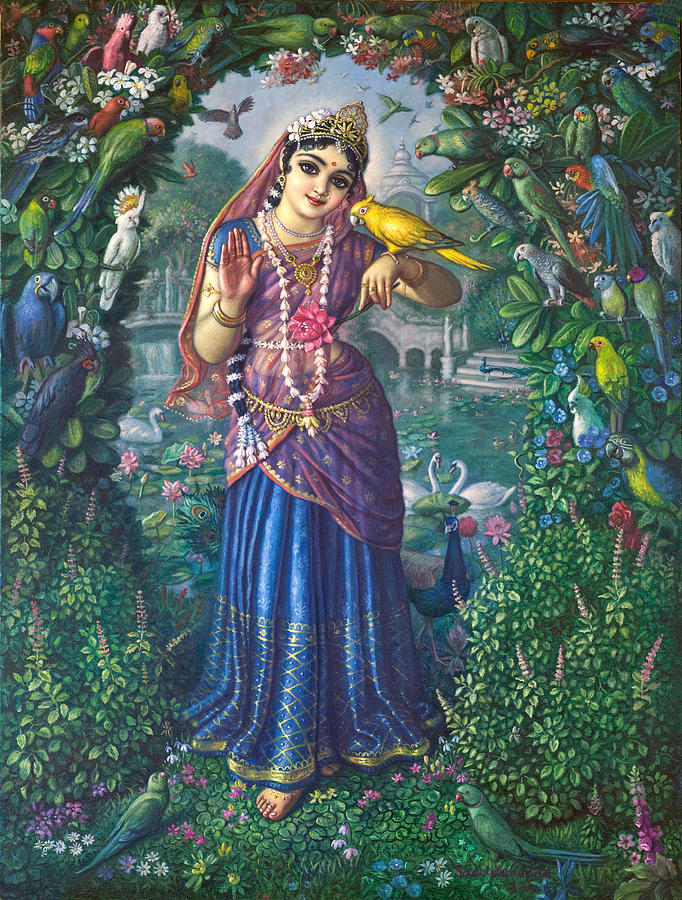 the name vrindavan came from radha's previous berth