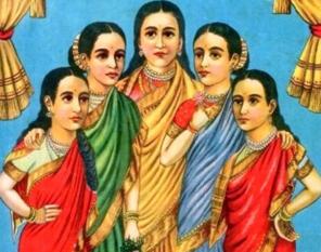 the panchkanya's of indian mythology, women remain idol although being of multi men