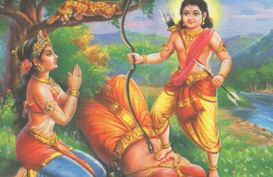 lord rama killed an gandharva princess, daughter of suketu