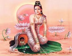 apsaras lived in heaven and earth