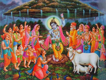 After all, to worship Lord Krishna Govardhan Why?