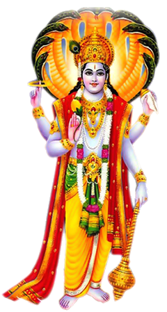 If you want to become rich, to the worship of Lord Vishnu