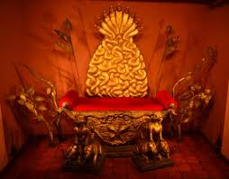 the chair of state used in earth sama
