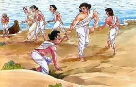 the pandavas, draupadi was also wives