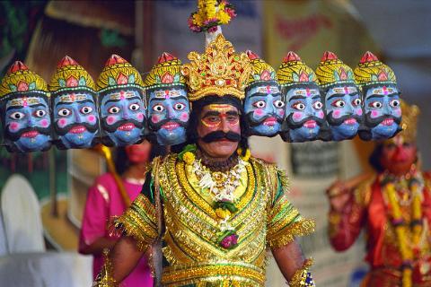 ravana was actually four airport