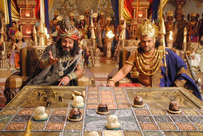 What was the battle of Mahabharat shakuni?