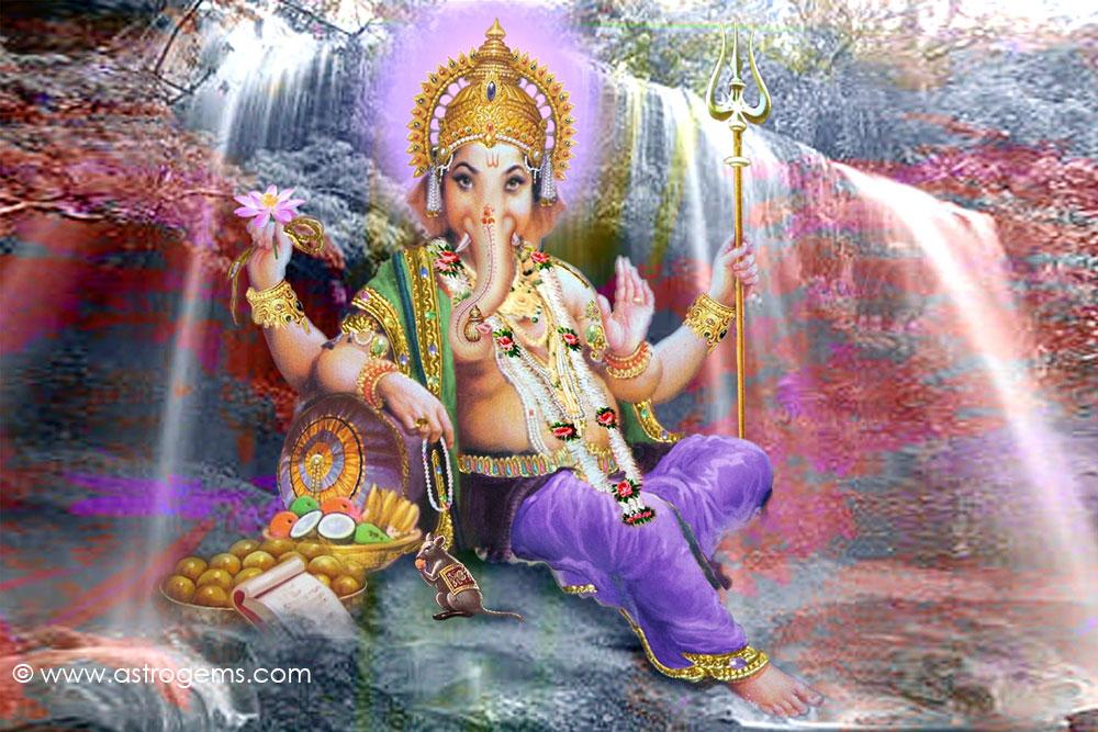 What's severed Ganesha in real sconce Cndramndl?