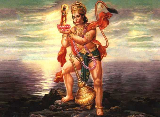 Hanuman's still got to be hard on the whole earth, are manifested from this particular mantra chanting