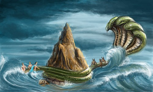 Devraj Indra is due to the arrogance of the sea churn out 14 unique things
