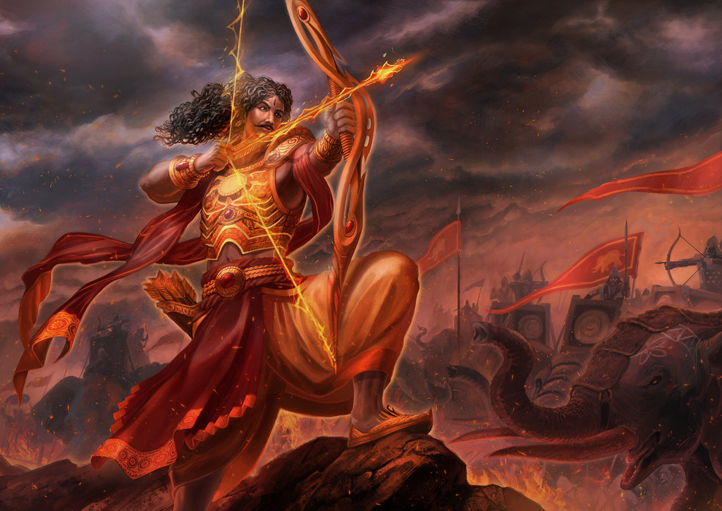 Arjuna Karna 5 reasons which caused the defeat